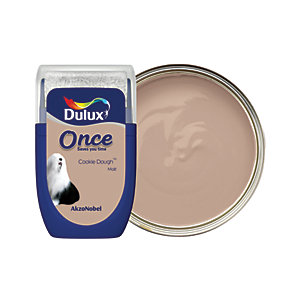Dulux - Cookie Dough - Once Paint Tester Pot 30ml
