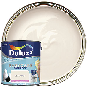 Dulux Easycare Bathroom - Almond White - Soft Sheen Emulsion Paint 2.5L
