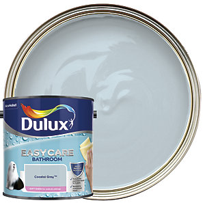Dulux Easycare Bathroom - Coastal Grey - Soft Sheen Emulsion Paint 2.5L