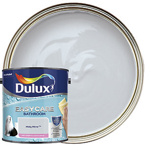 Dulux Easycare Bathroom - Misty Mirror - Soft Sheen Emulsion Paint 2.5L