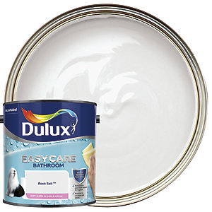 Dulux Easycare Bathroom - Rock Salt - Soft Sheen Emulsion Paint 2.5L