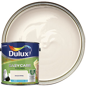 Dulux Easycare Kitchen - Almond White - Matt Emulsion Paint 2.5L