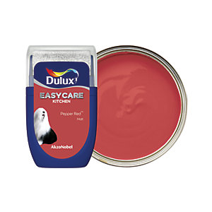 Dulux Easycare Kitchen - Pepper Red - Paint Tester Pot 30ml