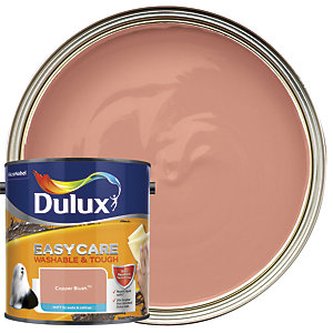 Dulux Easycare Washable & Tough - Copper Blush - Matt Emulsion Paint 2.5L