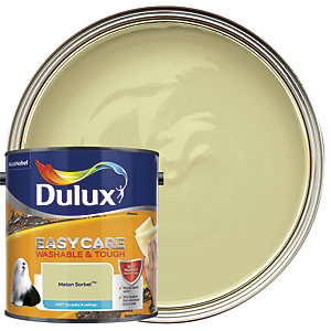 Dulux Easycare Washable & Tough - Melon Sorbet - Matt Emulsion Paint 2.5L