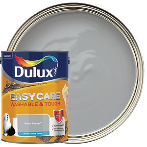 Dulux Easycare Washable & Tough - Warm Pewter - Matt Emulsion Paint 5L