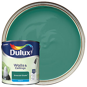 Dulux - Emerald Glade - Matt Emulsion Paint 2.5L