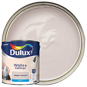 Dulux - Mellow Mocha - Matt Emulsion Paint 2.5L