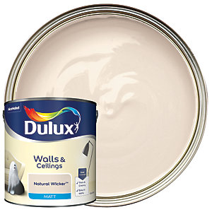 Dulux - Natural Wicker - Matt Emulsion Paint 2.5L