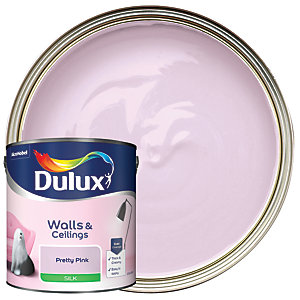 Dulux - Pretty Pink - Silk Emulsion Paint 2.5L