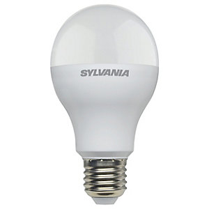 Sylvania LED GLS Frosted Dimmable 1521 Lumen/100 Watt Equivalent Warm White E27 Cap Fitting