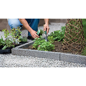 Marshalls Argent Coarse Coping Stone - Dark 600 x 136 x 50mm