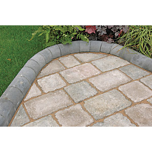 Marshalls Driveline 4 in 1 Textured Kerb Stone - Charcoal 100 x 100 x 200mm Pack of 240