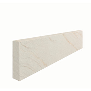 Marshalls Fairstone Sawn Versuro Smooth Edging Stone - Caramel Cream 845 x 150 x 50mm - Pack of 20