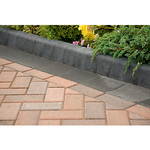 Marshalls Keykerb Smooth Edging Stone Pack - Brindle 100 x 127 x 200mm 25.2m2