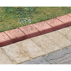 Marshalls Keykerb Smooth Edging Stone Pack - Red 100 x 127 x 200mm 25.2m
