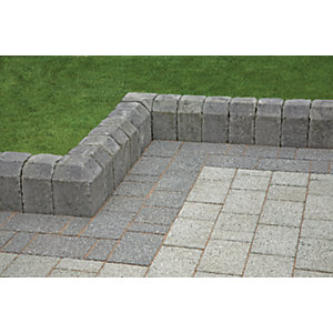 Marshalls Tegula Interior Radial Kerb Stone - Pennant Grey 130mm Pack of 60