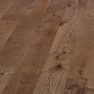 Style Dusky Dark Oak Engineered Wood Flooring - 1.44m2 Pack