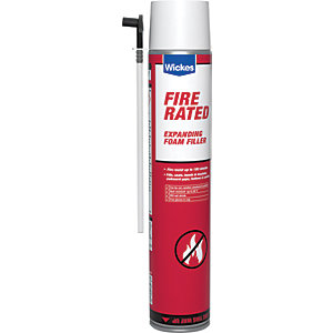 Wickes Fire Rated Foam Filler - 700ml