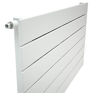 Henrad Verona Single Panel Designer Radiator - White 592 x 600 mm