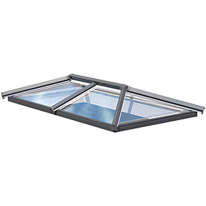 Eurocell 2 Bar Skypod - 1.5m x 3m - Anthracite Grey