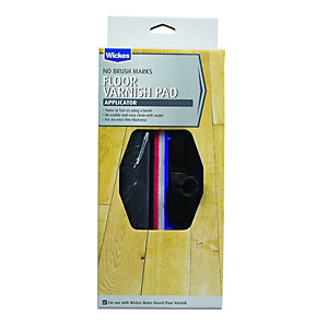 Wickes Floor Varnish Pad Applicator - 202 x 83mm