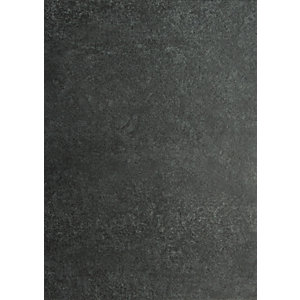 Novocore Charcoal Tile Effect Rigid Luxury Vinyl Flooring Sample