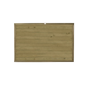 Forest Garden Tongue & Groove Horizontal Fence Panel - 6 x 4ft Multi Packs