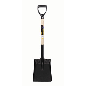 Wickes Lightweight Builders Steel Shovel - 1000mm
