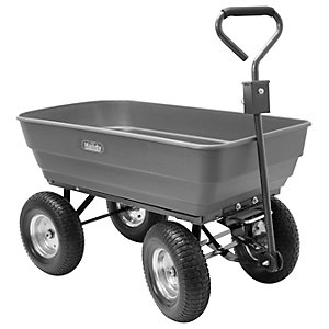 200kg 440lb Poly Body Garden Trolley
