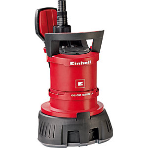 Einhell GE-DP 5220 LL ECO Submersible Combination Water Pump