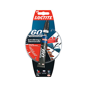 Loctite 60 Seconds All Purpose Glue - 20g
