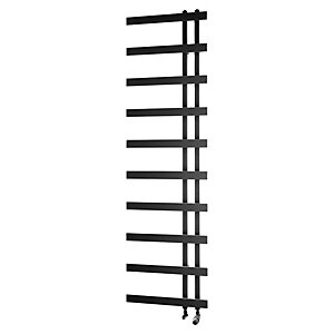 Horton Black Towel Radiator 1800x500mm