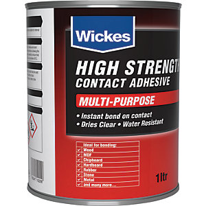 Wickes High Strength Contact Adhesive - 1L