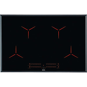 AEG 80cm Induction Hob with PureHob IPE84531FB