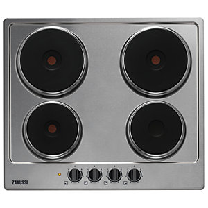 Zanussi 58cm Electric Hob Stainless Steel ZEE6942FXB