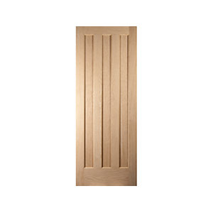 Jeld-Wen Aston Oak 3 Panel Internal Door - 1981mm