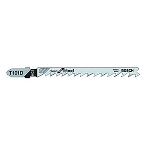 Bosch T101D Wood Jigsaw Blades - Pack of 5