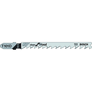 Bosch T118BF Metal Jigsaw Blades - Pack of 5