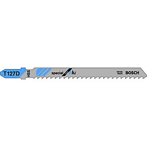 Bosch T127D Metal Jigsaw Blades - Pack of 5