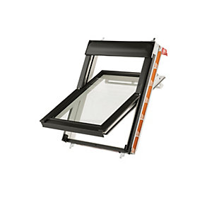 Keylite White Painted Centre Pivot Roof Window