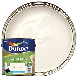 Dulux Easycare Kitchen Matt Emulsion Paint - Fine Cream 2.5L