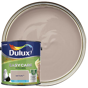 Dulux Easycare Kitchen - Soft Truffle - Matt Emulsion Paint 2.5L