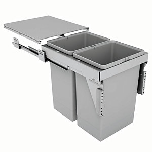 Stanto 40 2 x 24L Bins for 400mm Base Unit