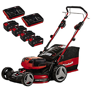 Einhell GE CM 36/47Li S Self Propelled Cordless Lawn Mower Kit