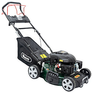 Webb Classic Self Propelled Electric Start Petrol Rotary Lawnmower - 46cm