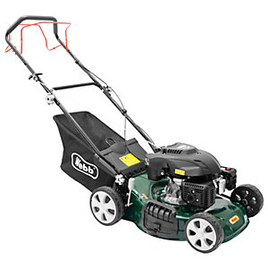 Webb Classic Self Propelled Petrol Rotary Lawnmower - 46cm