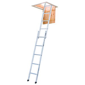 Youngman Spacemaker 2 Section Aluminium Loft Ladder