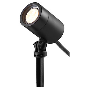 ELLUMIÈRE Black Outdoor Low Voltage LED Spotlight Small 2W