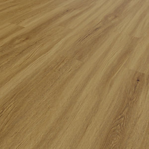 Novocore Mid Oak Luxury Vinyl Click Flooring - 2.56m2 Pack